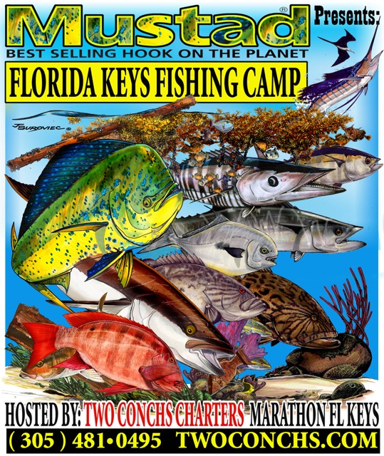 Mustad's Florida Keys Fishing Camp